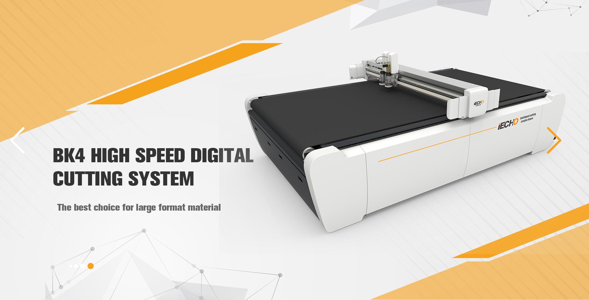 BK4 hoge snelheid digitale snijmachine
