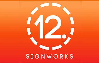 【Sign Industry】 12-punts SignWorks. Amerika